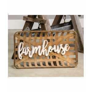 Farmhouse Tobacco Basket