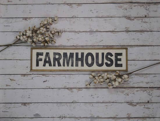 Farmhouse 33 x 8