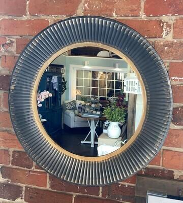 Galvanized Tin Wall Mirror