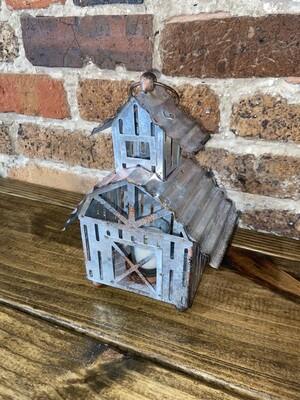 Tin Barn Tealight Holder