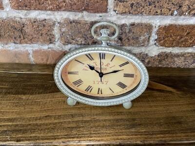 Victoria Oval Tabletop Clock