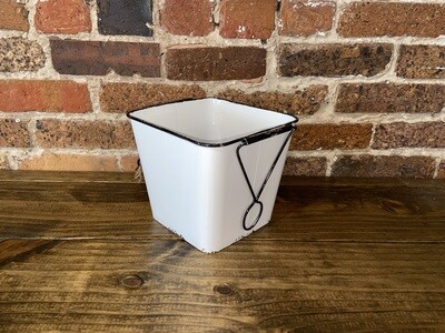 Square Metal Bucket