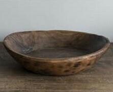 Round Dough Bowls