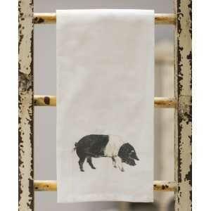 Pig Tea Towel