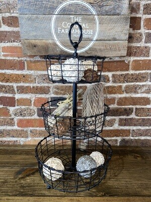 Tiered Wire Basket