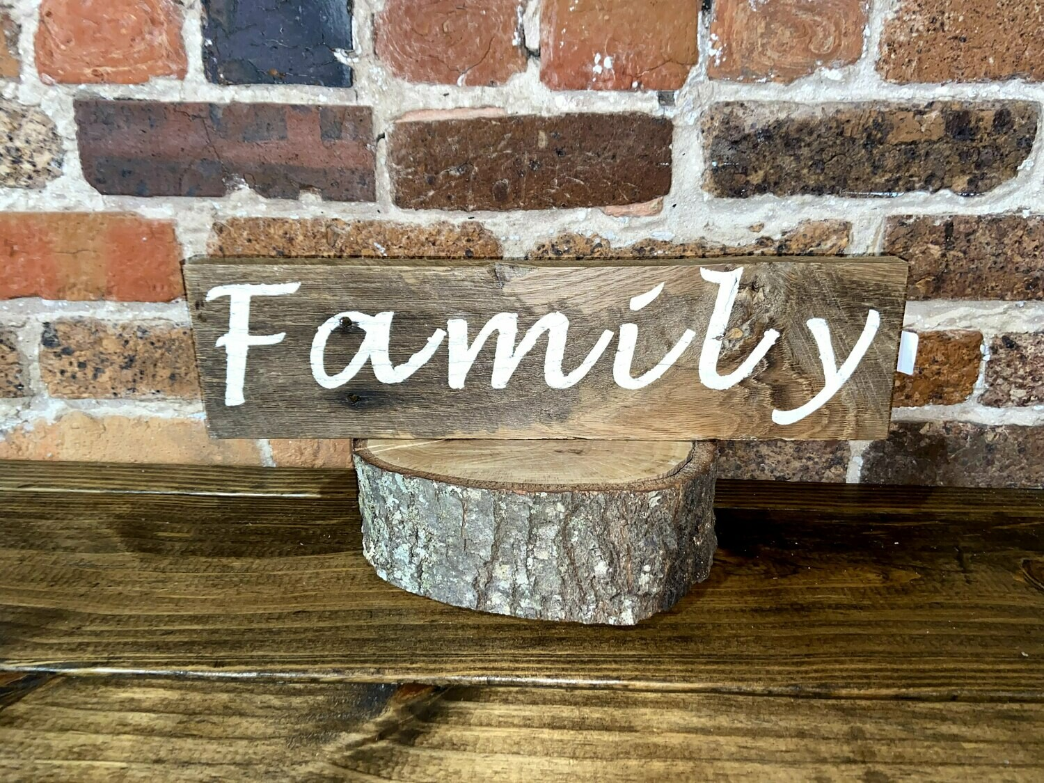 """Family"" Barn Wood Sign"