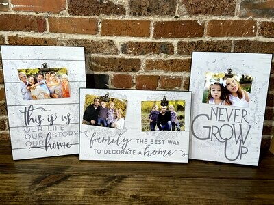 Canvas Family Picture Holder