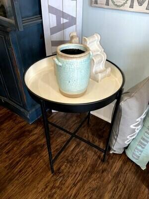 Ceramic Coated Metal Table