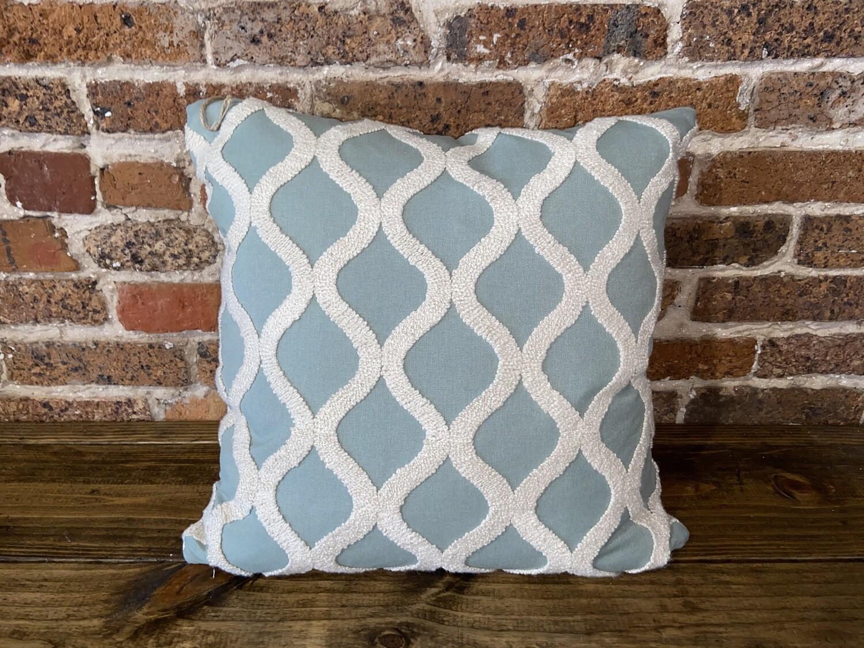 Decorator Pillow Teal Wave