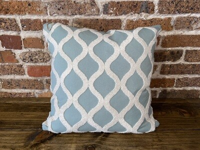 Decorator Pillow Teal Wave
