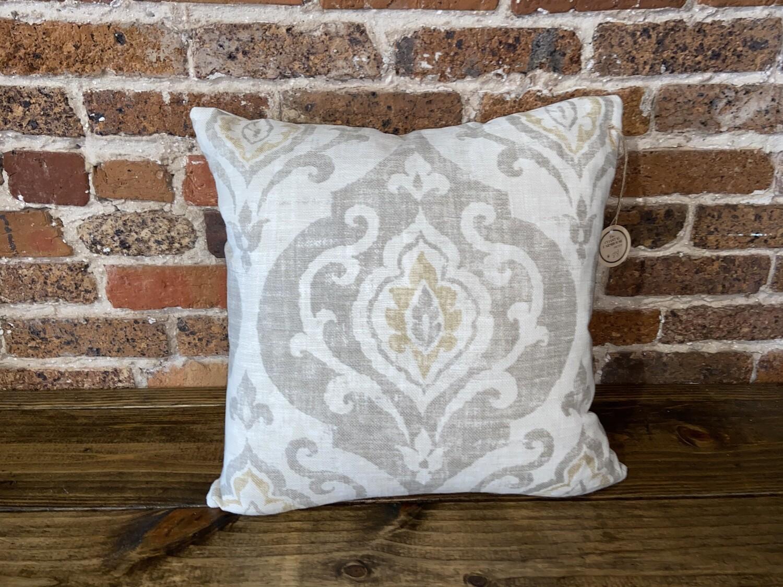 Decorator Pillow Tan & Gold