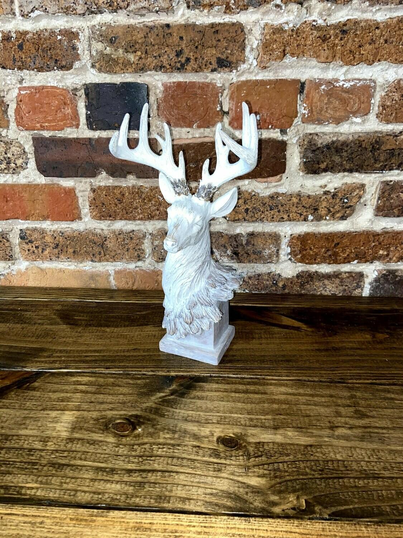 Resin Woodgrain Deer