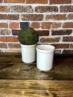 Tan Ceramic Vase