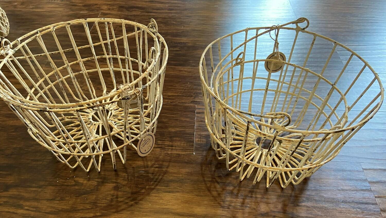 Wire Egg Baskets