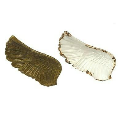 Pewter Angel Wings