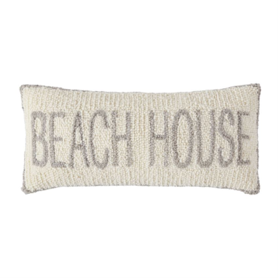 Beach House Hook Pillow