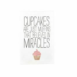 Cupcakes/ Miracles Cooking Towel