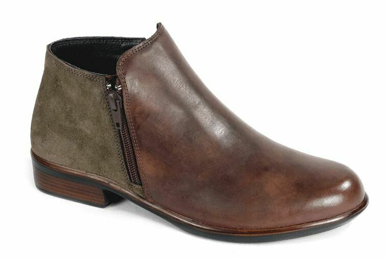 NAOT HELM BOOT WITH REMOVABLE FOOTBED