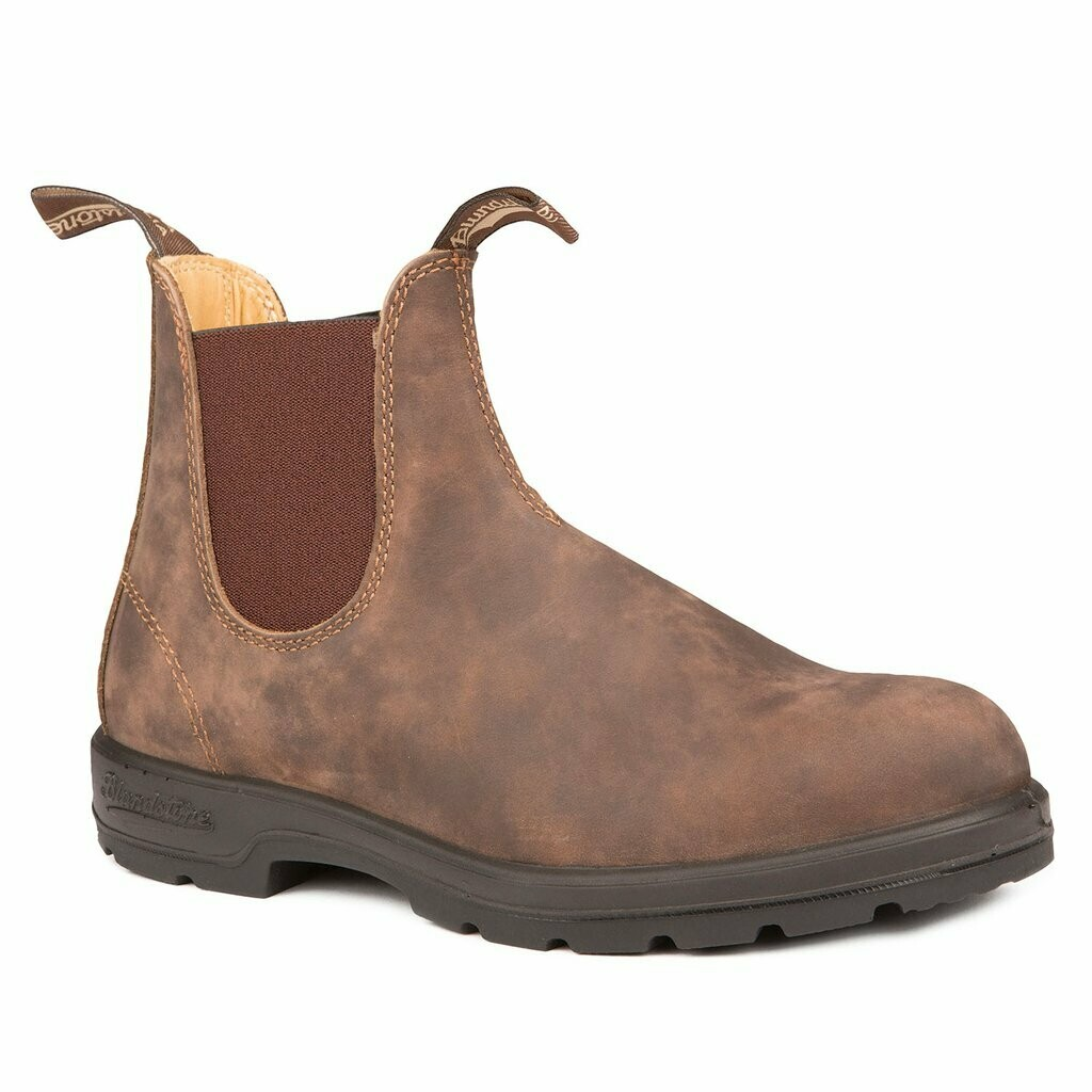BLUNDSTONE 585- LEATHER LINED CLASSIC RUSTIC BROWN
