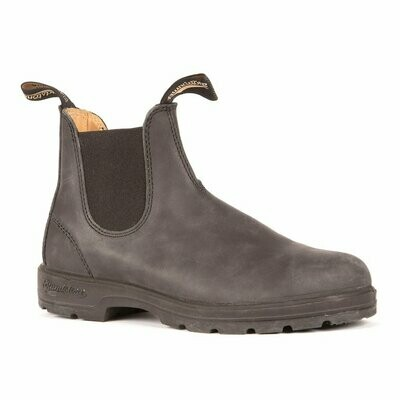BLUNDSTONE 587- LEATHER LINED CLASSIC RUSTIC BLACK