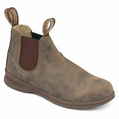 BLUNDSTONE 1496- ACTIVE LEATHER RUSTIC BROWN