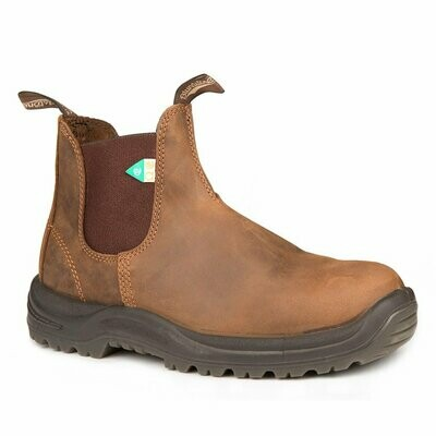 BLUNDSTONE 164- WORK&SAFETY BOOT CRAZY HORSE BROWN