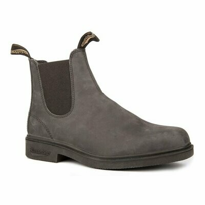 BLUNDSTONE 1308- CHISEL TOE DRESS RUSTIC BLACK