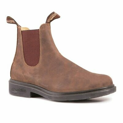 BLUNDSTONE 1306- CHISEL TOE DRESS RUSTIC BROWN