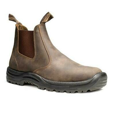 BLUNDSTONE 492- CHUNK SOLE RUSTIC  BROWN