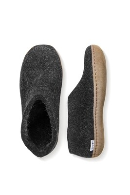 GLERUPS - CHARCOAL SHOE LEATHER SOLE