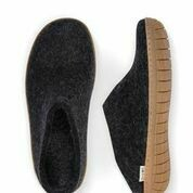GLERUPS - CHARCOAL  SLIP-ON RUBBER SOLE