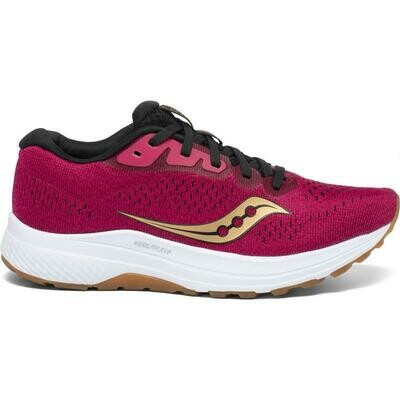SAUCONY S10553-20 WOMEN'S CLARION 2 BERRY/ GOLD