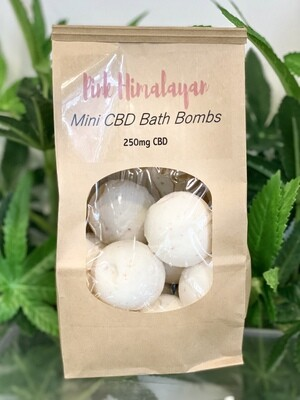 Mini Bath Bombs - Pink Himalayan 250mg
