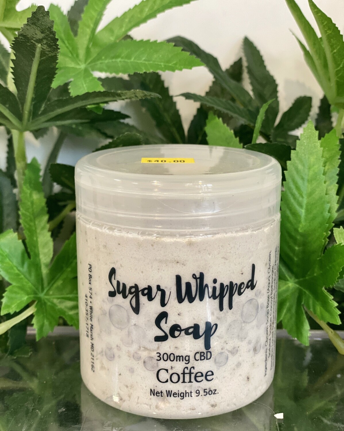 Sugar Whipped Soap - Coffee 300mg