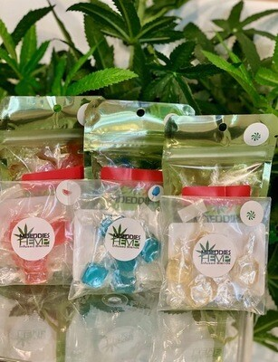 MDeddies CBD Cotton Candy 5 Count