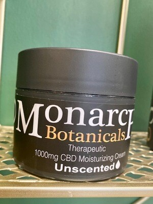 Unscented Moisturizing Cream - 1000mg