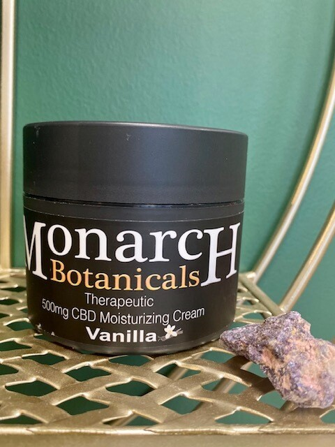 Vanilla Moisturizing Cream - 500mg