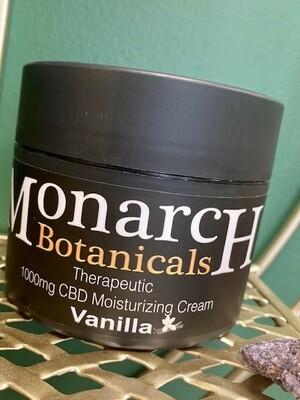 Vanilla Moisturizing Cream - 1000mg