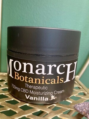 Vanilla Moisturizing Cream - 750mg