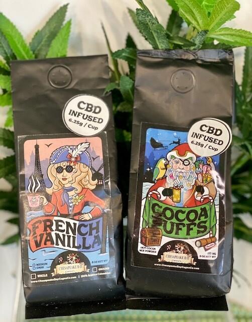 French Vanilla Coffee Grind - 8 oz
