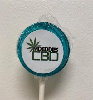 Mdeddies CBD Lollipop 50 MG  Cotton Candy