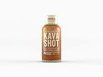 Root of Happiness Kava Shot™ 2oz - Tropical Mango Flavor - 500mg