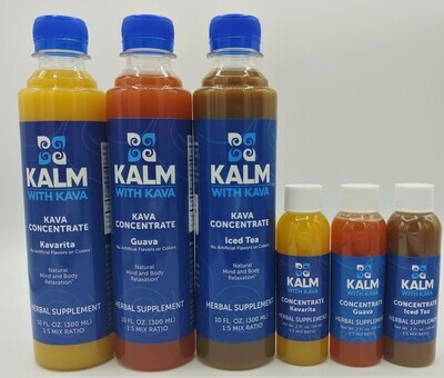 Kalm with Kava - Flavored Kava Concentrate