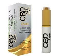 CBD Drip Gold CBD Vape Additive - 14.5mg