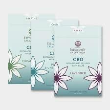 Inesscents Botanical Infused CBD Bath Salts