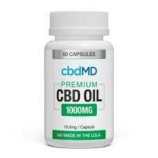 cbdMD CBD Oil Capsules (60ct)