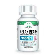 Green Roads CBD Relax Bears / Fruit Bites (30ct)
