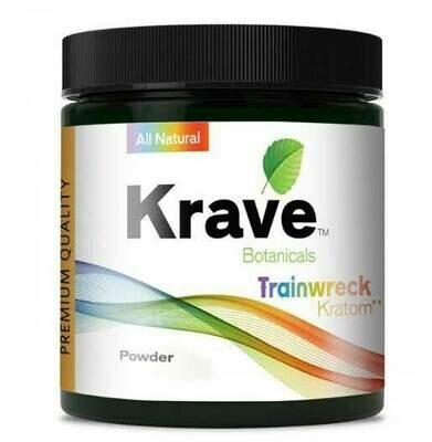 Krave Botanicals Trainwreck Kratom Powder - 120 Grams