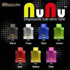 SINGLE Sikary Vapor Nunu Disposable Tank