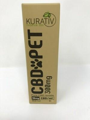 Kurativ Pet Tincture Oil 1oz Bottle - 300mg CBD
